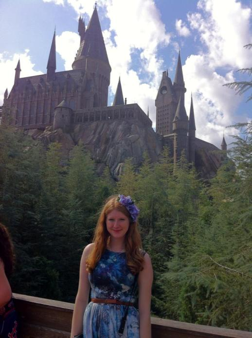 Hester at Hogwarts Castle